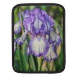Iris púrpura funda para iPads