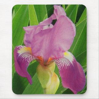Iris púrpura alfombrilla de ratón