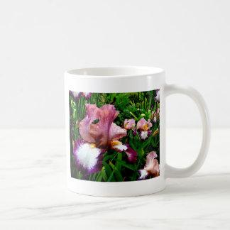 Iris púrpura taza clásica