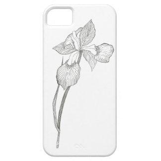 Iris que dibuja la caja iphone5 funda para iPhone 5 barely there