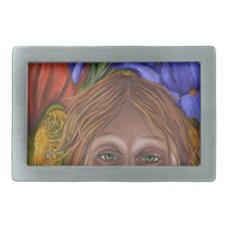 Iris Rectangular Belt Buckle