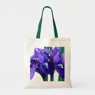 Iris Reticulata Tote Bag