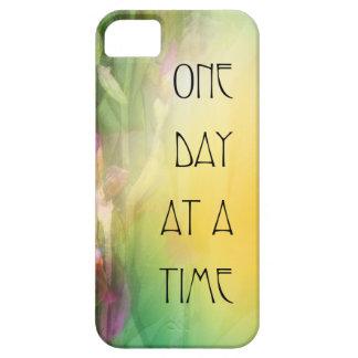 Iris rosados y rojos de un día a la vez iPhone 5 Case-Mate carcasa
