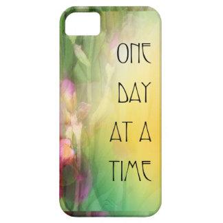 Iris rosados y rojos de un día a la vez iPhone 5 protectores
