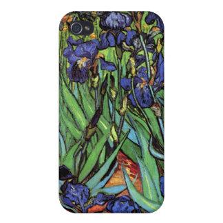 Iris, Santo-Remy, Van Gogh iPhone 4 Fundas