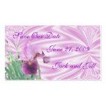 Iris Save the Date card-customize Business Card Templates