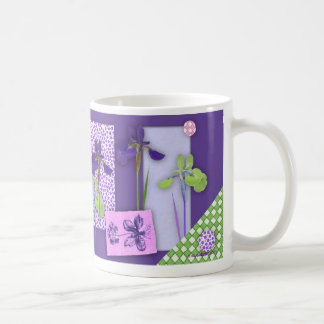 Iris Scrapbook Mug