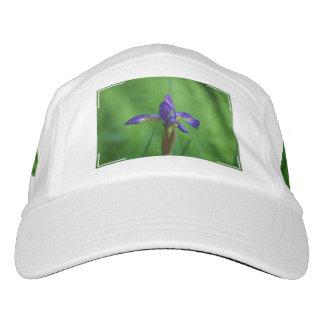 Iris siberiano floreciente gorras de alto rendimiento