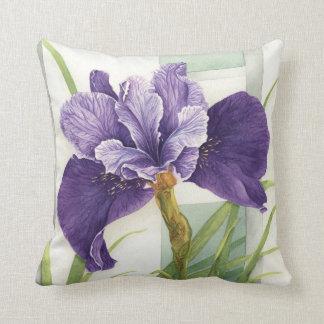 Iris siberiano púrpura - almohada