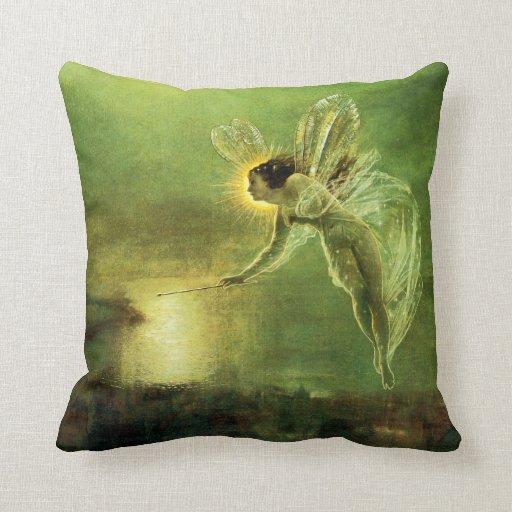 Iris, Spirit of the Night Pillows
