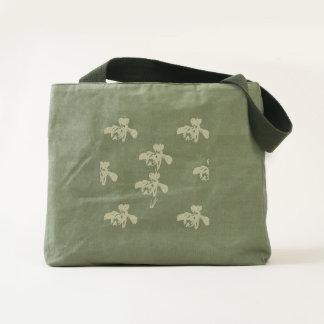 IRIS SUPER FLORAL BAG PATTERN ART PRINT