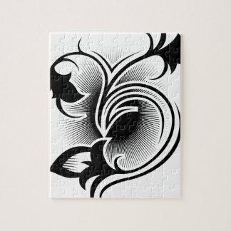 Iris tattoo jigsaw puzzle