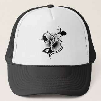 Iris tattoo trucker hat
