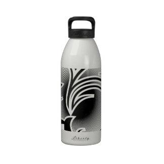 Iris tattoo drinking bottles