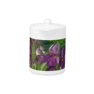 Iris Teapot