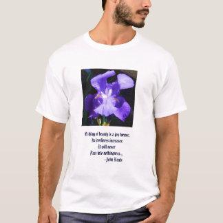 Iris teeshirt and classic, inspirational quote T-Shirt