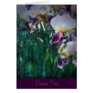 Iris Thank You Note Card