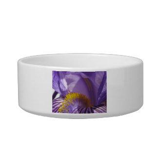 Iris' Tongue Cat Food Bowl