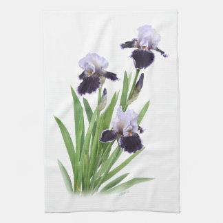 Iris Trio Hand Towels