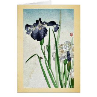 Iris Ukiyoe Tarjetas