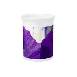 Iris Unfolding Beverage Pitcher