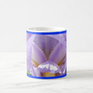 Iris Up Close Coffee Mug