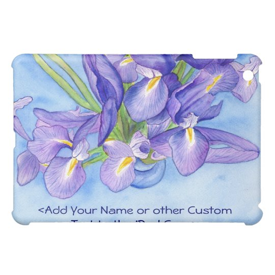 Iris Vase Flower Painting iPad Speck Case Case For The iPad Mini