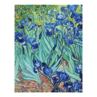 Iris, Vincent van Gogh Tarjetón