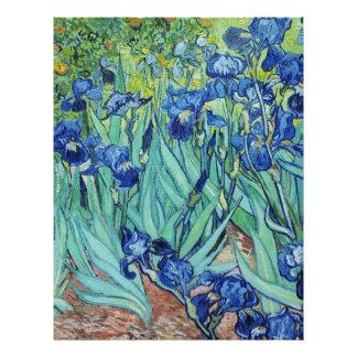 Iris, Vincent van Gogh Membrete