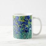 Iris Vincent van Gogh que pinta la taza