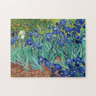 Iris Vincent van Gogh que pinta rompecabezas
