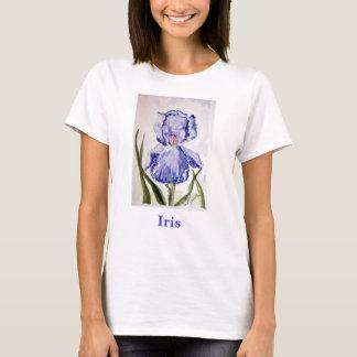 Iris watercolor painting T-Shirt