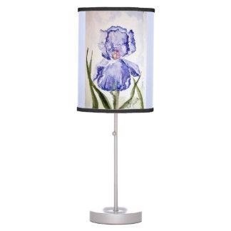 Iris Watercolor Table Lamp