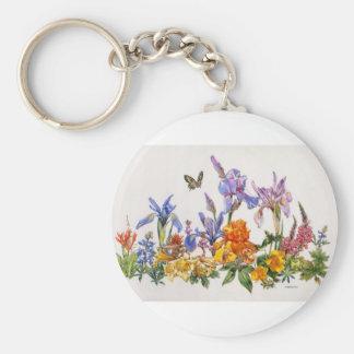 Iris Wrap-Around Keychain