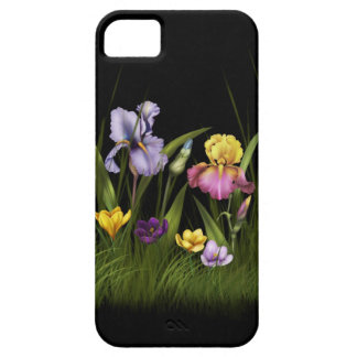 Iris y azafrán iPhone4 iPhone 5 Carcasas