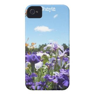 Iris y *Personalize* intrépido de la caja de iPhone 4 Carcasas