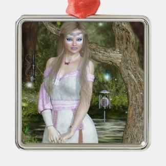 IrisBig.jpg Metal Ornament