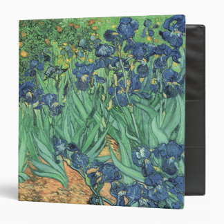 Irises, 1889 3 ring binders