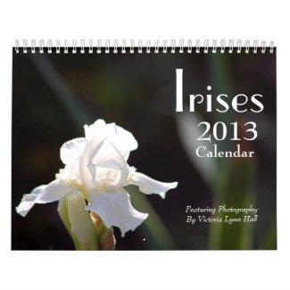 Irises 2013 Calendar