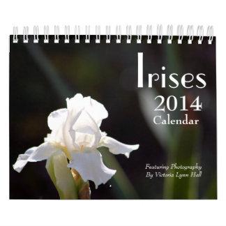 Irises 2014 Calendar
