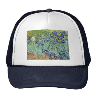 Irises 2 by Vincent Van Gogh Trucker Hats