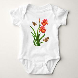 Irises and Butterflies Shirt