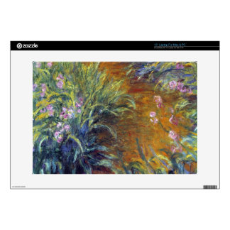 Irises by Claude Monet Laptop Decals