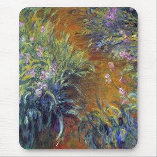 Irises by Claude Monet Mouse Pad