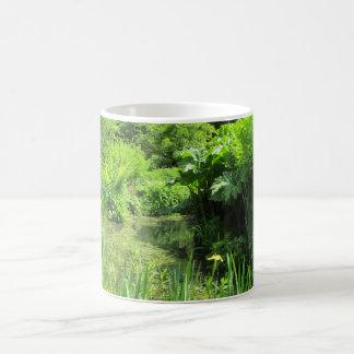 Irises by Pond, Richmond Park Classic White Mug