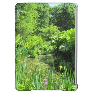 Irises by Pond, Richmond Park iPad Air Case
