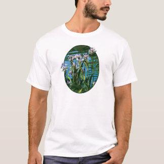Irises by the Lake Mens T-Shirt