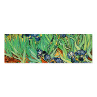 Irises by Van Gogh Business Cards