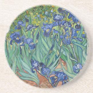 Irises by Van Gogh Beverage Coaster
