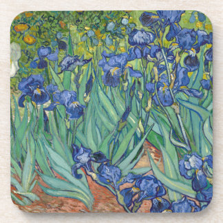 Irises by Van Gogh Drink Coasters